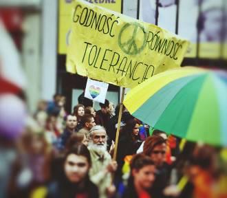Marsz Równości przeszedł ulicami Zielonej Góry