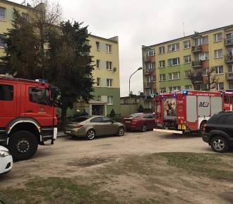 Wybuch gazu w mieszkaniu przy ul. Warszawskiej w Szadku ZDJĘCIA