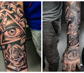 Sprawdź tatuaże z miejskogóreckiego salonu Grzybas Tattoo Studio!