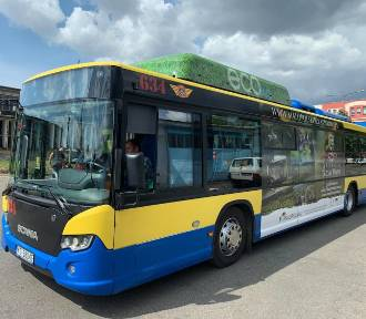 Tym razem napęd gazowy! Testy nowoczesnego autobusu w Jeleniej Górze! [ZDJĘCIA]