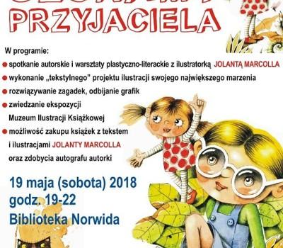 Noc Muzeów 2018 Muzeum Ilustracji Książkowej Biblioteki