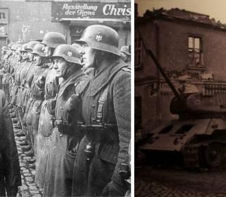 Radzieckie czołgi na ulicach Lubania i wizyta Goebbelsa