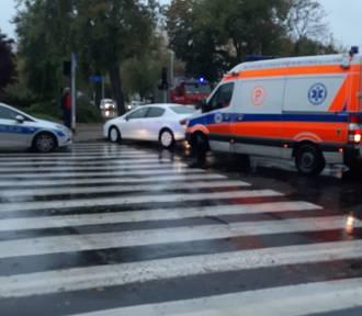 Groźny wypadek w centrum Konina