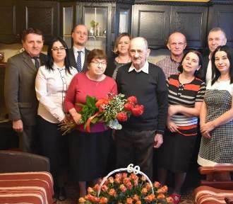 Państwo Urszula i Cyprian Michniewicz obchodzili 60-lecie małżeństwa