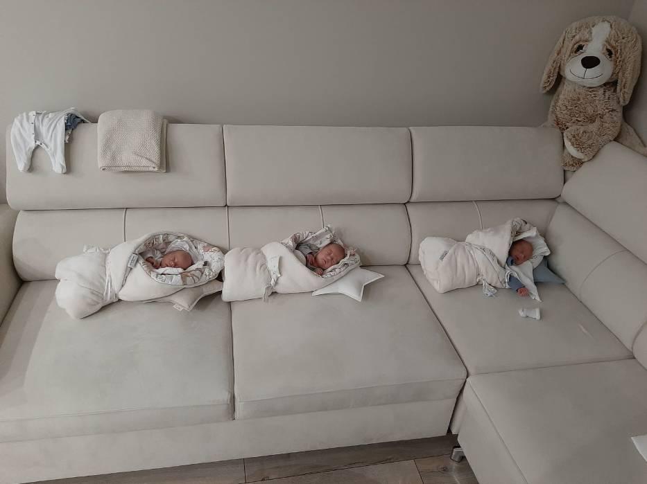 Pięcioraczki z Gniezna spędzą święta wielkanocne w domu