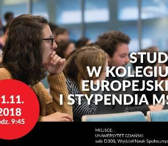 Studia w Kolegium Europejskim i stypendia MSZ