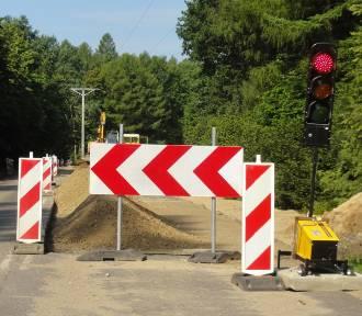 Remont drogi wojewódzkiej nr 211 z Kartuz do Sierakowic - najnowsze wieści z placu budowy ZDJĘCIA