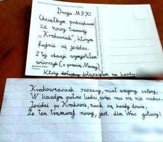 Skargi, wiersze, pochwały...Co ludzie piszą do MPK Kraków? [TOP 10 najciekawszych listów]