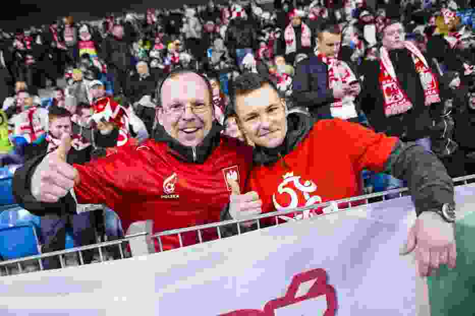 Kibice na meczu Polska - Serbia. Tak dopingowaliście biało-czerwonych!
