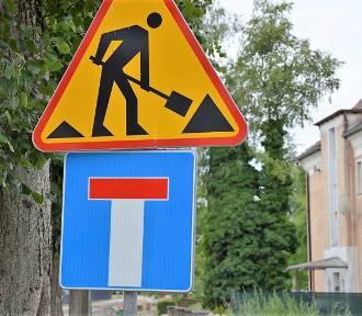 Sławno: Postęp remontu ul. Kopernika i pobliskich uliczek [ZDJĘCIA] - nie ma przejazdu