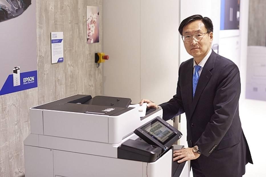 Epson na CeBIT: drukarka atramentowa o wydajności 100 stron na minutę