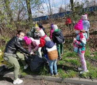 Dzień Ziemi w Przedszkolu Miejskim w Bierutowie. Zobaczcie, jak obchodziły go maluchy