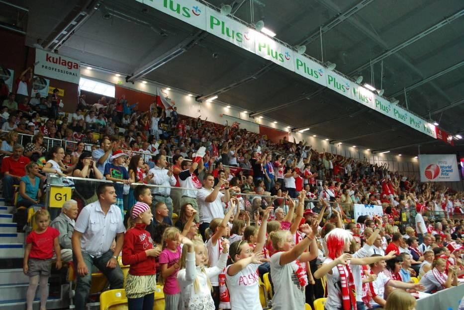 Kibice tłumnie przybyli do Gdyńskiej hali