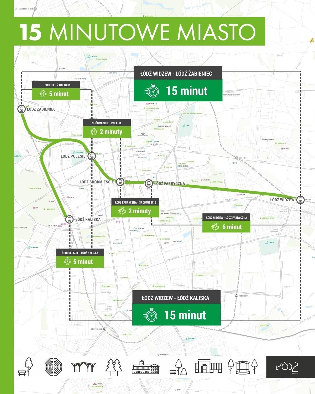 Budowa przystanku kolejowego Śródmieście ma sprawić, że do wielu dzielnic Łodzi będzie można dojechać pociągiem z centrum w 15 minut