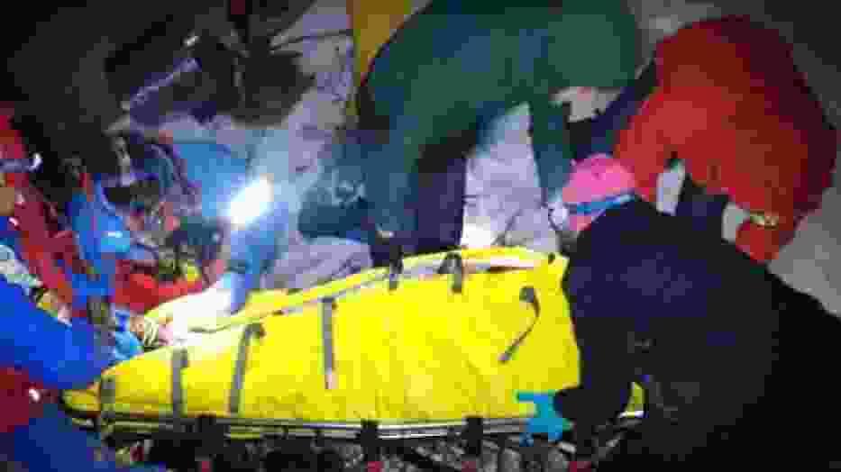 duża ilość wypadków w górach GOPR