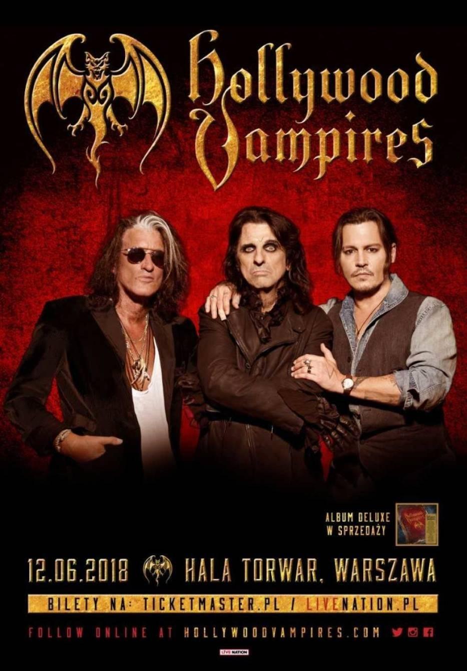 Hollywood Vampires w Warszawie