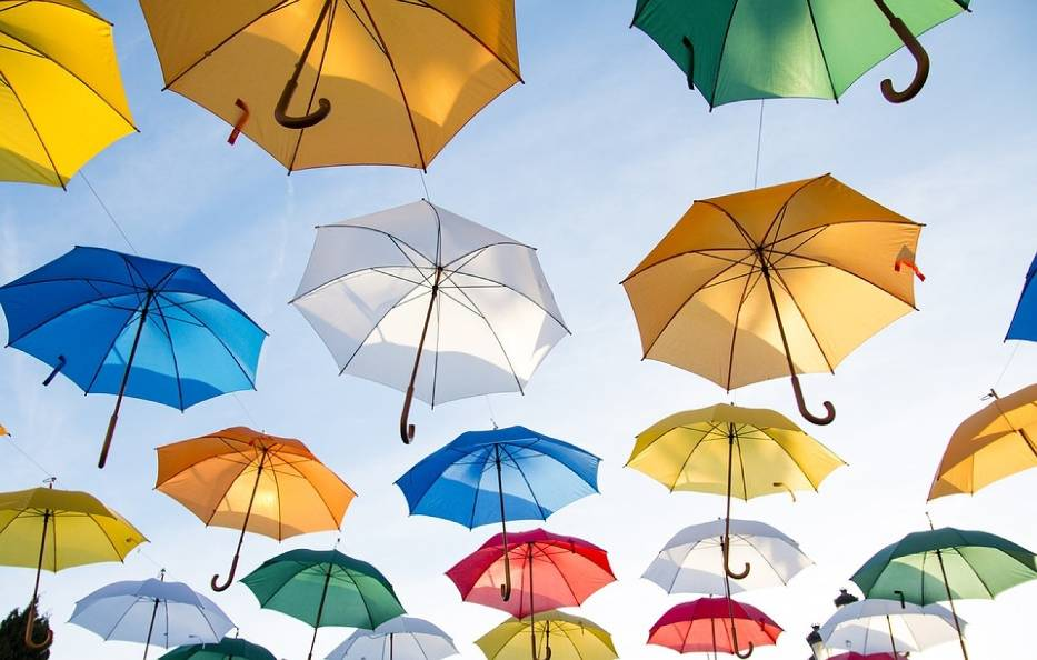 15. Weź parasolkę