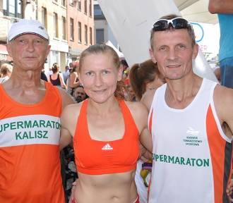 Edyta Marciniak i Ryszard Płochocki na podium biegu w belgijskim La Louviere [FOTO]