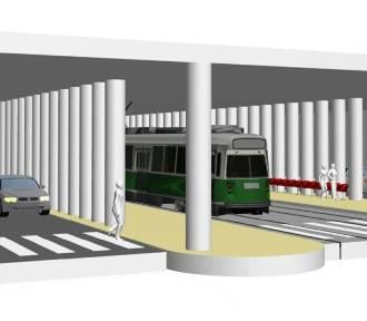 W centrum Katowic powstanie kolejny węzeł przesiadkowy. I tunel pod dworcem WIZUALIZACJE, ZDJĘCIA