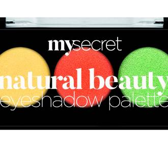 Natura prezentuje kosmetyki marki My Secret Natural Beauty