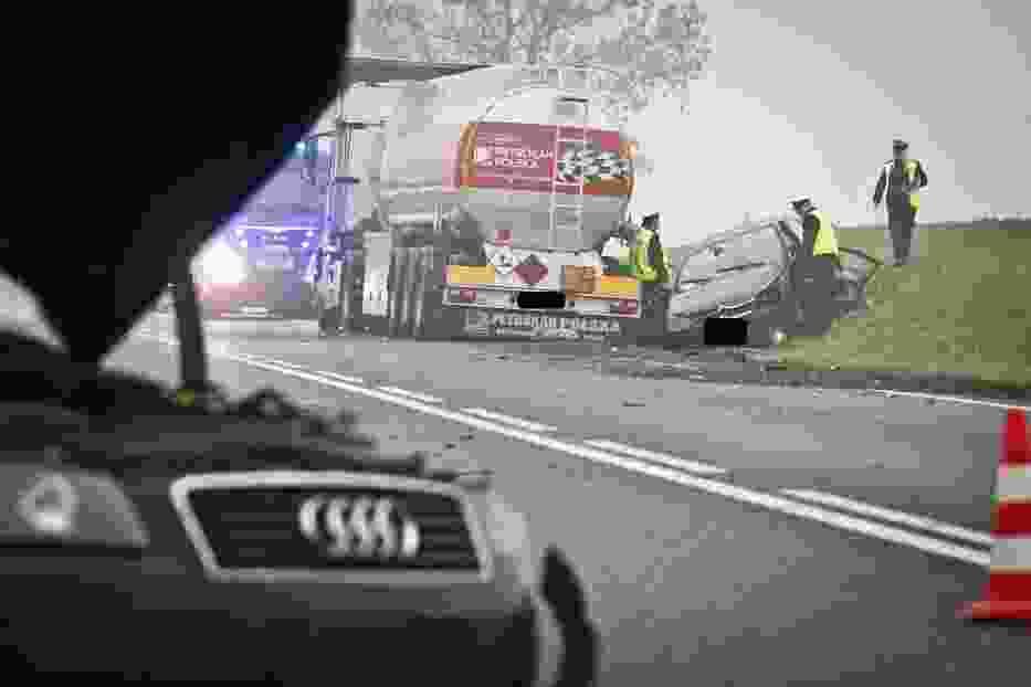 W Tarkowie Górnym doszło do wypadku