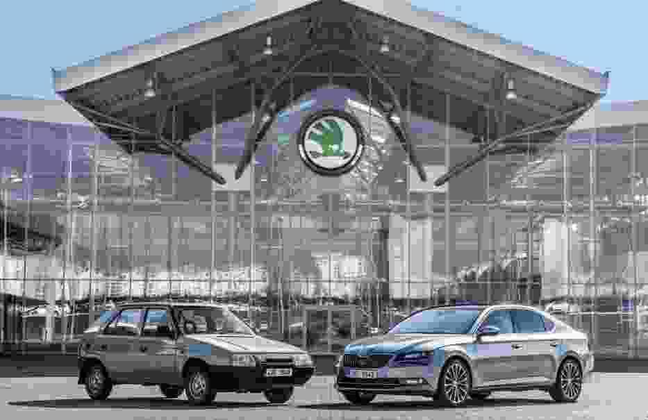 25 lat owocnej współpracy Skody i Volkswagena