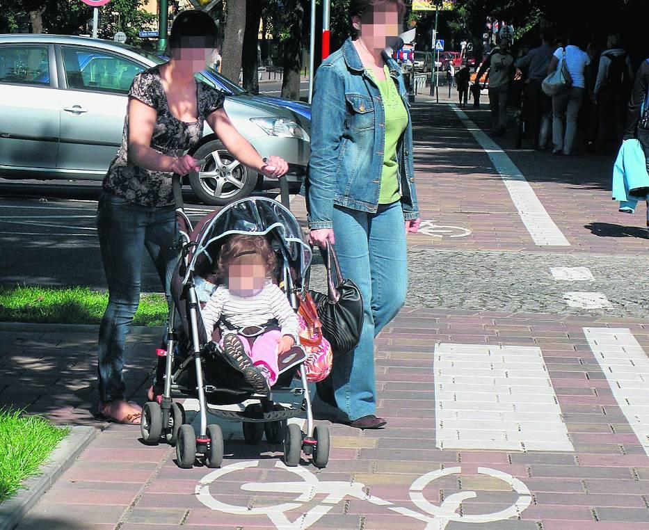 Niestety, niewiele osób zwraca uwagę na ścieżkę rowerową