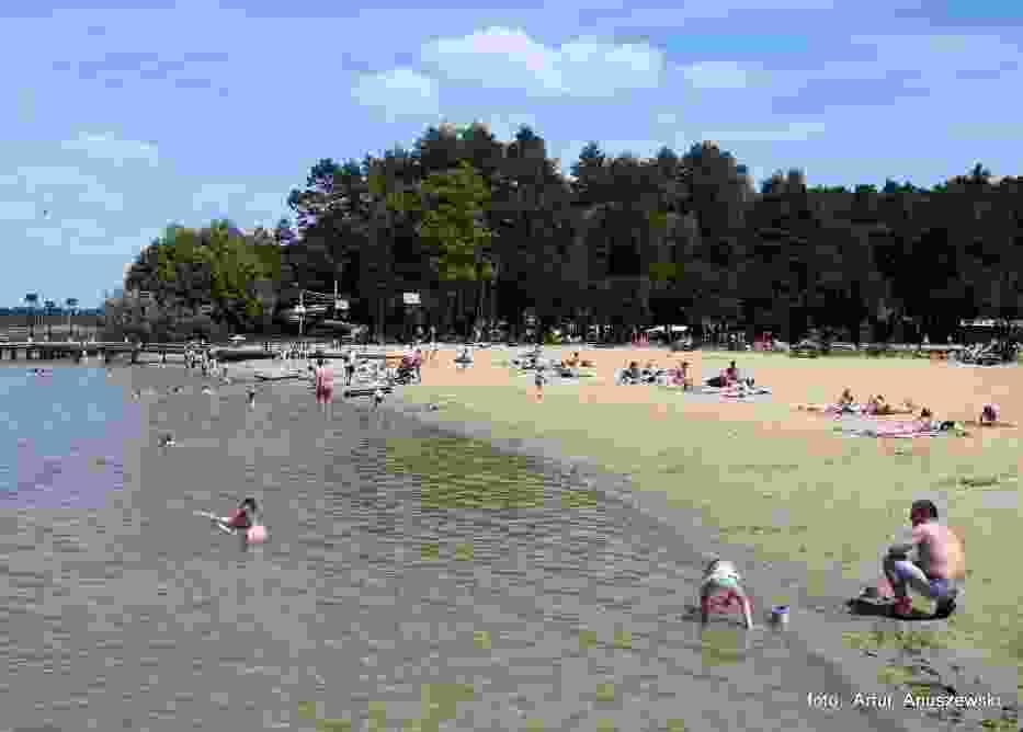 Kąpielisko nad jeziorem Głębokie