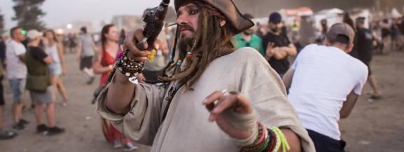 Pol'and'Rock 2018, dawny Woodstock. Najciekawsze przebrania podczas 24. imprezy w Kostrzynie nad Odrą [ZDJĘCIA]
