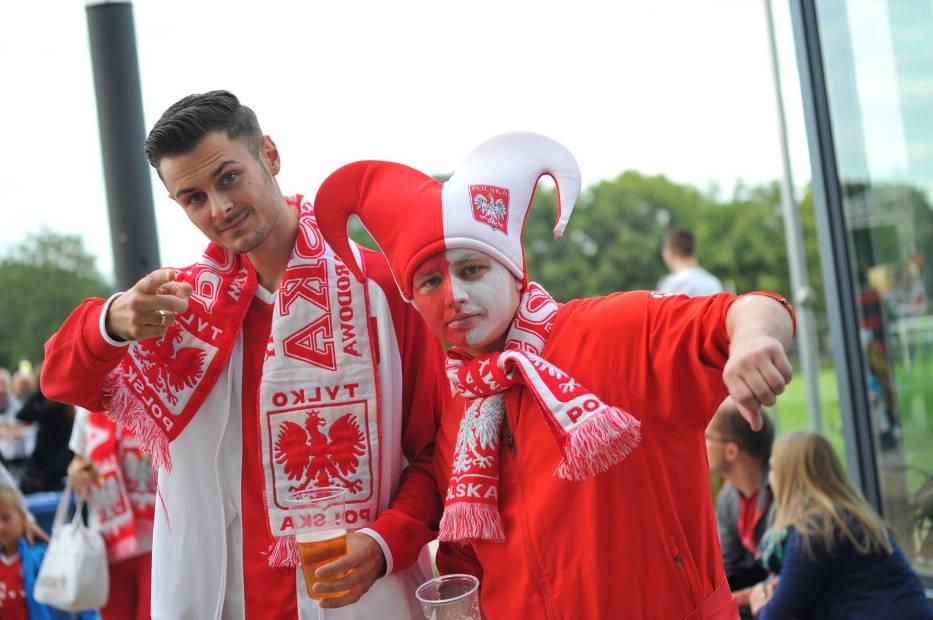 Mecz Polska - Niemcy Frankfurt