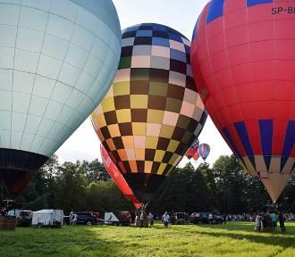 Nałęczów. Międzynarodowe Zawody Balonowe (ZDJĘCIA, WIDEO)