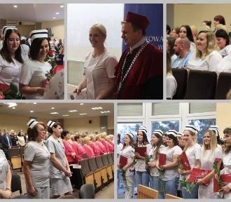 Wręczenie dyplomów absolwentom pielęgniarstwa PUZ we Włocławku [zdjęcia]