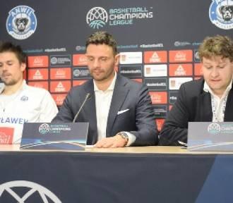 Konferencja prasowa po meczu Anwil Włocławek - Sidigas Avellino 62:72 w 10. kolejce Ligi Mistrzów