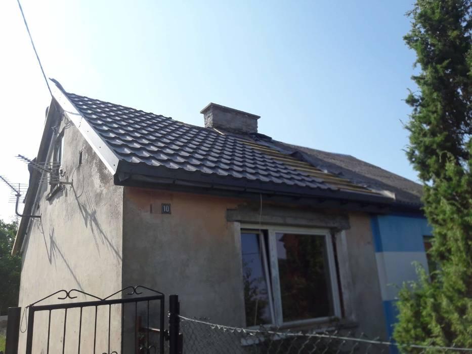 Dach już skończony