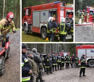 """Ćwiczenia ratownicze """"WOLARZ 2021"""" jednostek Straży Pożarnej"""