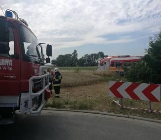 Śmiertelny wypadek na przejeździe kolejowym w Dąbrówce Wielkopolskiej [ZDJĘCIA]