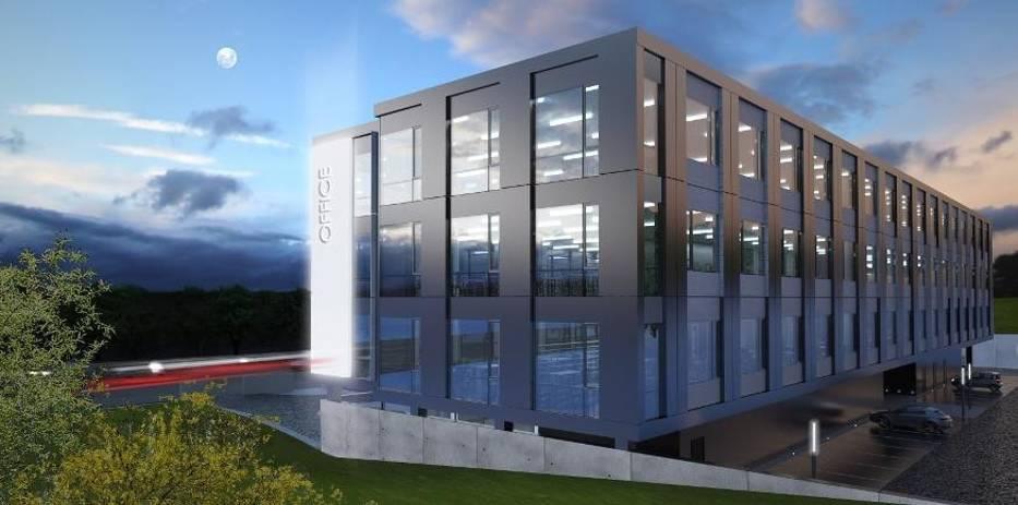 Tak prezentuje się projekt biurowca firmy Schleifer & Milczanowski Architekci s
