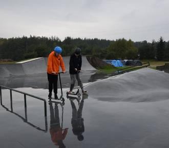 Gratka dla miłośników sportów ekstremalnych. W Luzinie otworzyli skatepark