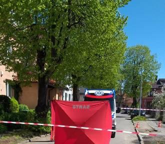 Śmiertelne potrącenie 84-latki na ulicy Cichej