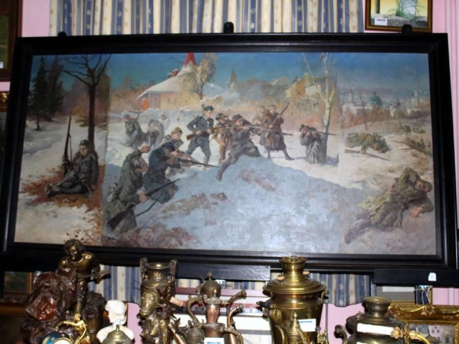 """Odnaleziono """"Orlęta lwowskie"""" z 1936 r. Cenny obraz zaginął podczas II wojny światowej"""