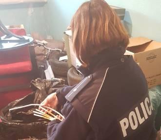 Policjanci z Bełchatowa przechwycili 42 kilogramy papierosów, tytoń i narkotyki