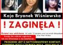Zaginęła Kaja Wiśniewska. Trwają poszukiwania
