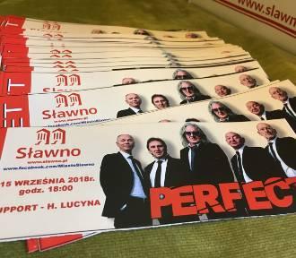 Sławno: Co trzeba wiedzieć przed koncertem zespołu Perfect? Start 15 września godz. 17 ZAPRASZAMY