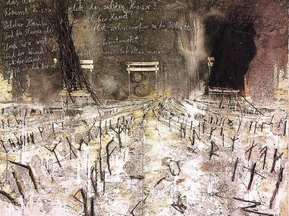 """W Art Stations obejrzymy między innymi pracę Anselma Kiefera """"Das Haar"""""""