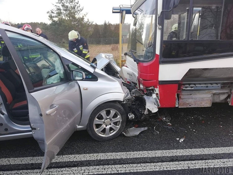 Wypadek na Oświęcimskiej w Opolu