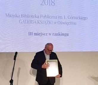 Galeria Książki z Oświęcimia trzecia w Polsce i najlepsza w Małopolsce