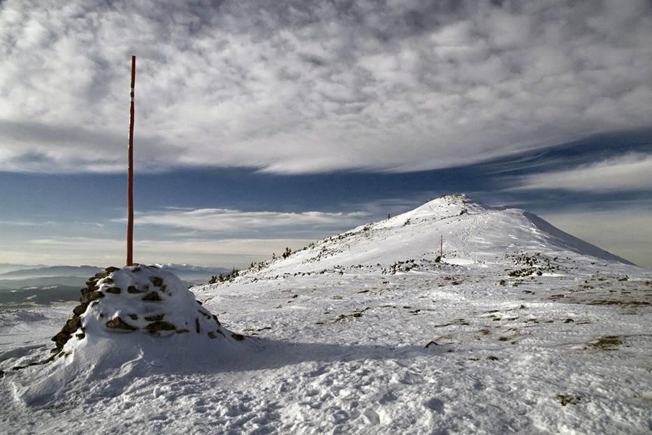 Babia Góra zimą