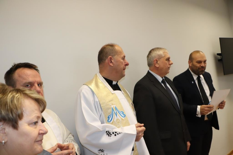Uroczyste otwarcie dziennego domu pomocy w Brudzewie