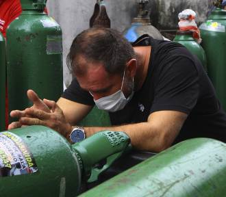 """""""Super Covid"""" dobija Amazonię. Mnóstwo ofiar śmiertelnych, brakuje tlenu w szpitalach"""