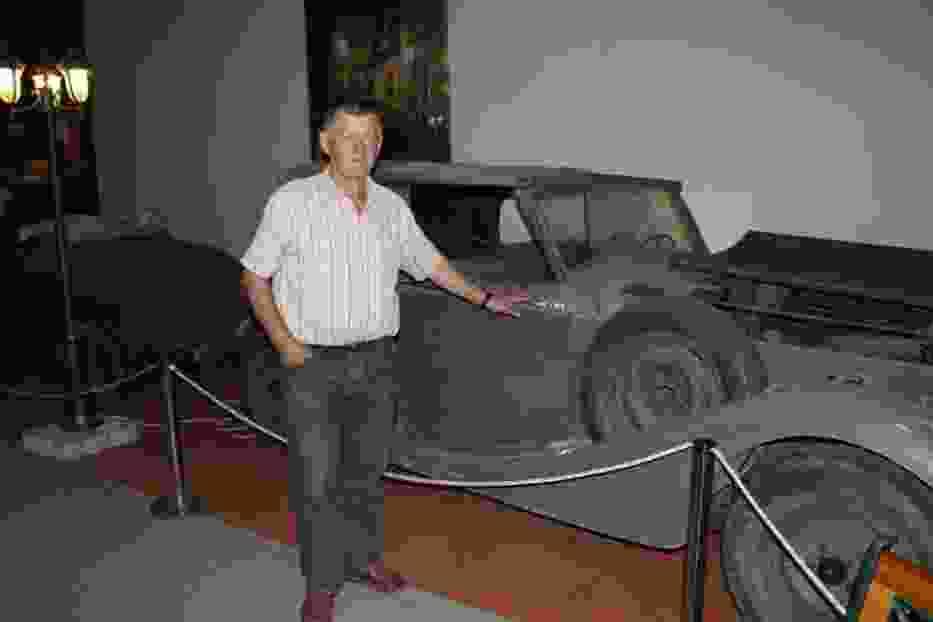 Ale na początek, Jaguar 2,5 L w stanie zanim będzie lśnił pełnym blaskiem